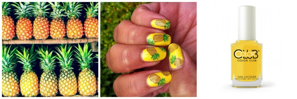 pineapple nail art design 3 24 Beautiful Pineapple Nail Art Designs 2015 24 Beautiful Pineapple Nail Art Designs 2015 pineapple nail art design 3