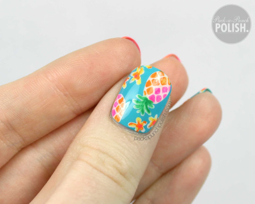 pineapple nail art design 4 24 Beautiful Pineapple Nail Art Designs 2015 24 Beautiful Pineapple Nail Art Designs 2015 pineapple nail art design 4