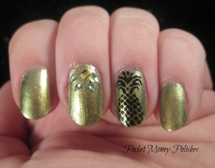 pineapple nail art design 6 24 Beautiful Pineapple Nail Art Designs 2015 24 Beautiful Pineapple Nail Art Designs 2015 pineapple nail art design 6