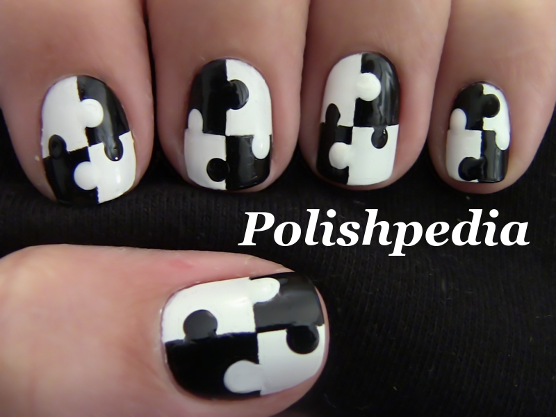 16 Amazing Puzzle Nails Art Designs 2015 16 Amazing Puzzle Nails Art Designs 2015 puzzle nail art designs 10