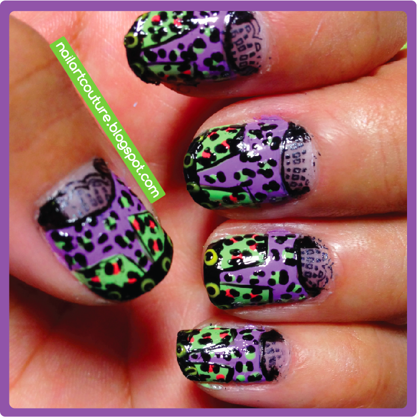 16 Amazing Puzzle Nails Art Designs 2015 16 Amazing Puzzle Nails Art Designs 2015 puzzle nail art designs 6