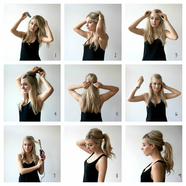sixties ponytail tutorial 15 Best Summer Hairstyles Tutorials for Women 2015/16 15 Best Summer Hairstyles Tutorials for Women 2015/16 sixties ponytail tutorial