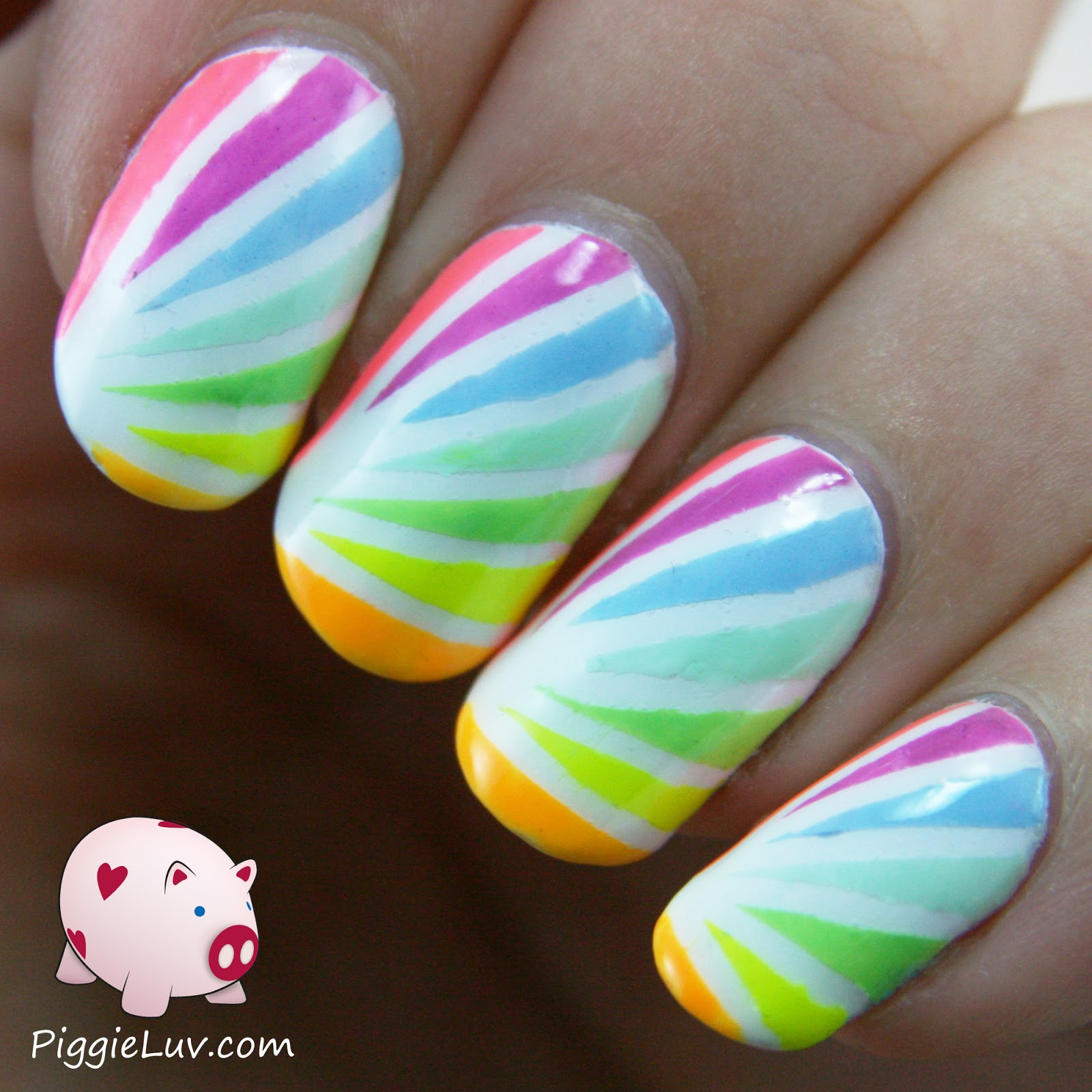 25 Beautiful Starburst Nails with Tape 2015/16 25 Beautiful Starburst Nails with Tape 2015/16 starburst nails with tape 20
