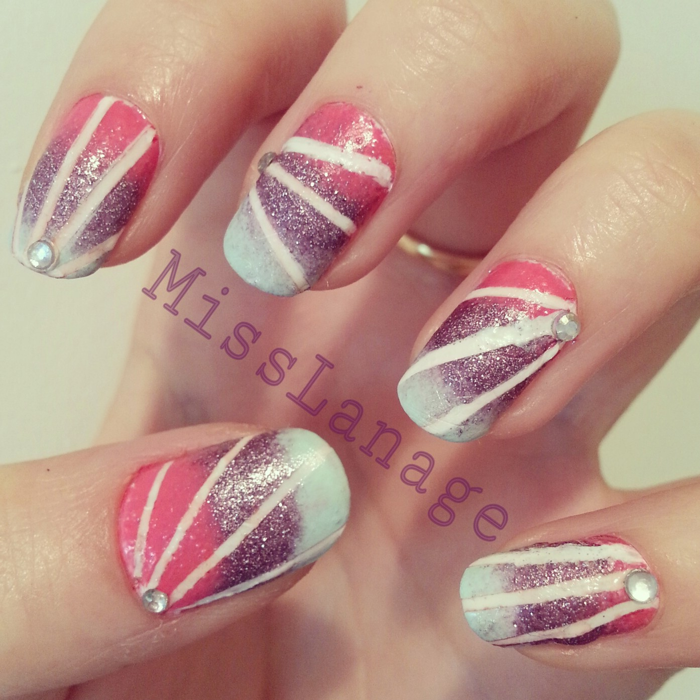 25 Beautiful Starburst Nails with Tape 2015/16 25 Beautiful Starburst Nails with Tape 2015/16 starburst nails with tape 21
