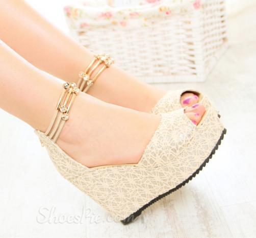 wedge heel sandals 30 Latest Summer Wedge Heels and Sandals 2015 30 Latest Summer Wedge Heels and Sandals 2015 wedge heel sandals10