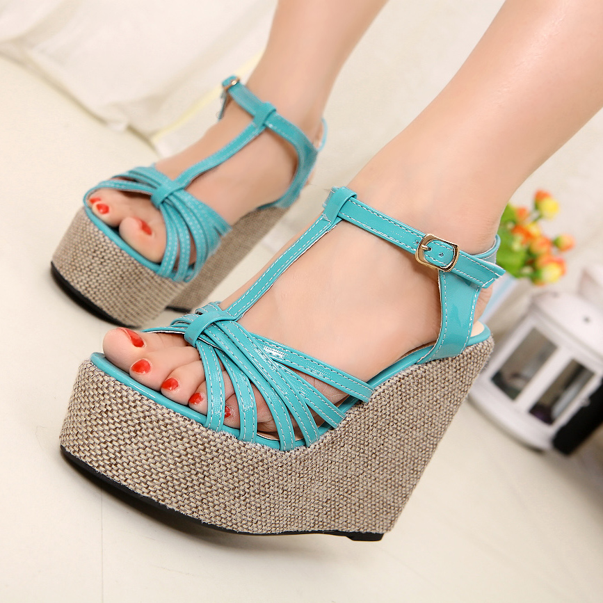 wedge heel sandals 30 Latest Summer Wedge Heels and Sandals 2015 30 Latest Summer Wedge Heels and Sandals 2015 wedge heel sandals8