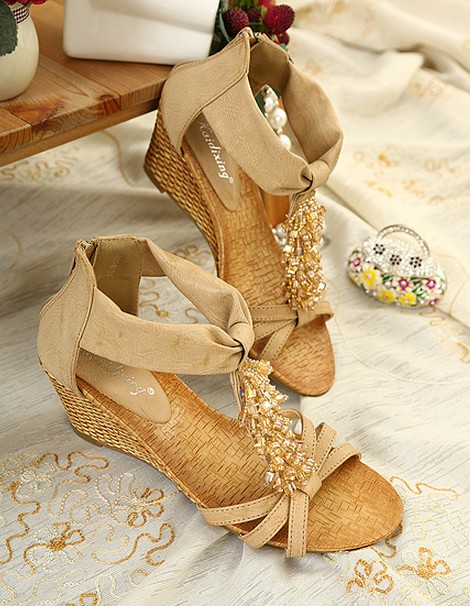 wedge sandals 30 Latest Summer Wedge Heels and Sandals 2015 30 Latest Summer Wedge Heels and Sandals 2015 wedge sandals5
