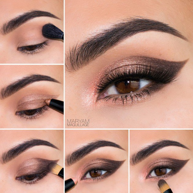 Beautiful-Summer-Inspired-Eye-Makeup-Tutorials-2015-16 18 Summer Makeup Tutorials 2015/16 to Look Pretty Use These 18 Summer Makeup Tutorials 2015/16 to Look Pretty Beautiful Summer Inspired Eye Makeup Tutorials 2015 16