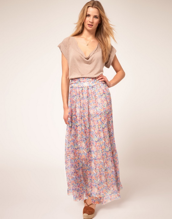 Latest-Stylish-Maxi-Skirts 25 Colorful Long Maxi Skirts for Summer 2015/16 - Street Style Fashion 25 Colorful Long Maxi Skirts for Summer 2015/16 - Street Style Fashion Latest Stylish Maxi Skirts
