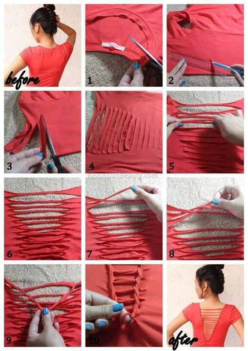 diy clothes project 22 Easy Diy Summer Clothes & Accessories Projects 22 Easy Diy Summer Clothes & Accessories Projects diy clothes project