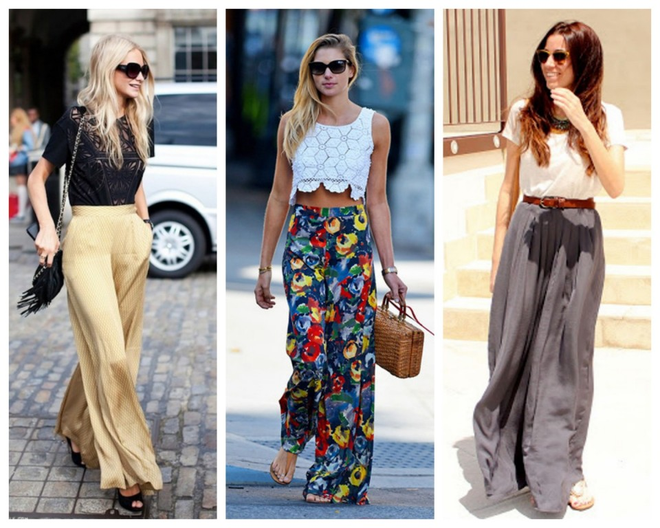 how-to-style-palazzo-pants Latest Wide Fashion Palazzo Pants 2015/16 Latest Wide Fashion Palazzo Pants 2015/16 how to style palazzo pants