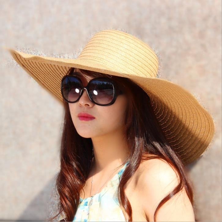 large-brimmed-sun-cap-straw-hats-beach-hats Summer Hats Trends for Women 2015/16 - 20 Photos Summer Hats Trends for Women 2015/16 - 20 Photos large brimmed sun cap straw hats beach hats
