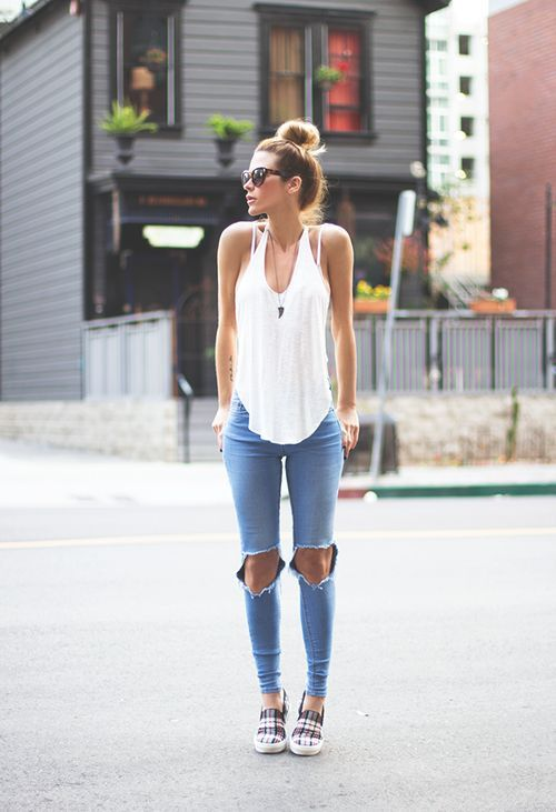 latest jeans fashion 25 Latest Skinny Jeans Fashion Trends for Summer 2015/16 25 Latest Skinny Jeans Fashion Trends for Summer 2015/16 latest jeans fashion2