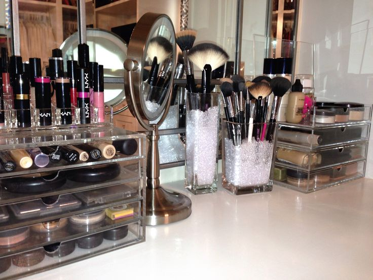 makeup storage ideas 32 Ways to Organize Your Stuff Perfectly in Daily Routine 32 Ways to Organize Your Stuff Perfectly in Daily Routine makeup storage ideas