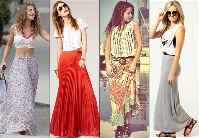 maxi skirts 25 Colorful Long Maxi Skirts for Summer 2015/16 - Street Style Fashion 25 Colorful Long Maxi Skirts for Summer 2015/16 - Street Style Fashion maxi skirts