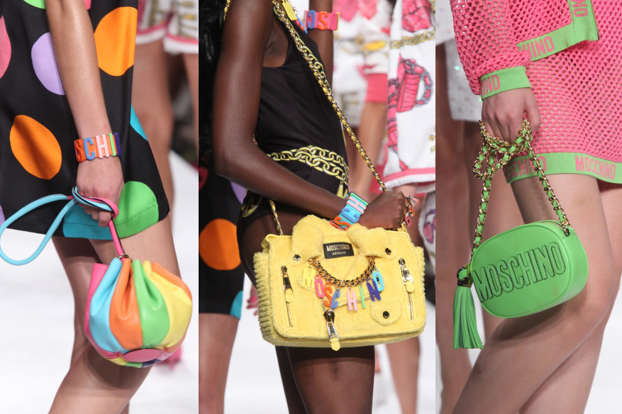Moschino - Runway - Milan Fashion Week Womenswear Spring/Summer 2015 21 Best Summer Handbags Trends for Women 2015/16 21 Best Summer Handbags Trends for Women 2015/16 moschino spring summer 2015 bags