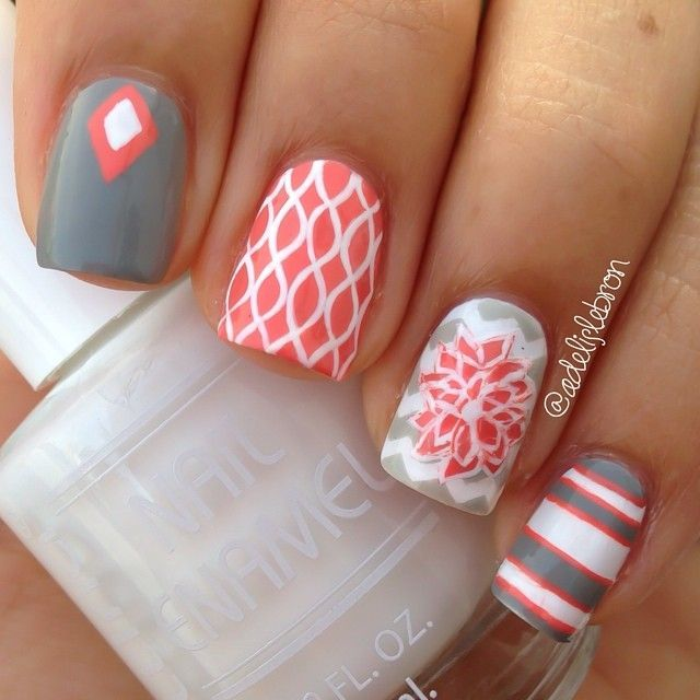 20 Awesome Nail Designs 2015 16 By Adelislebron On Instagram