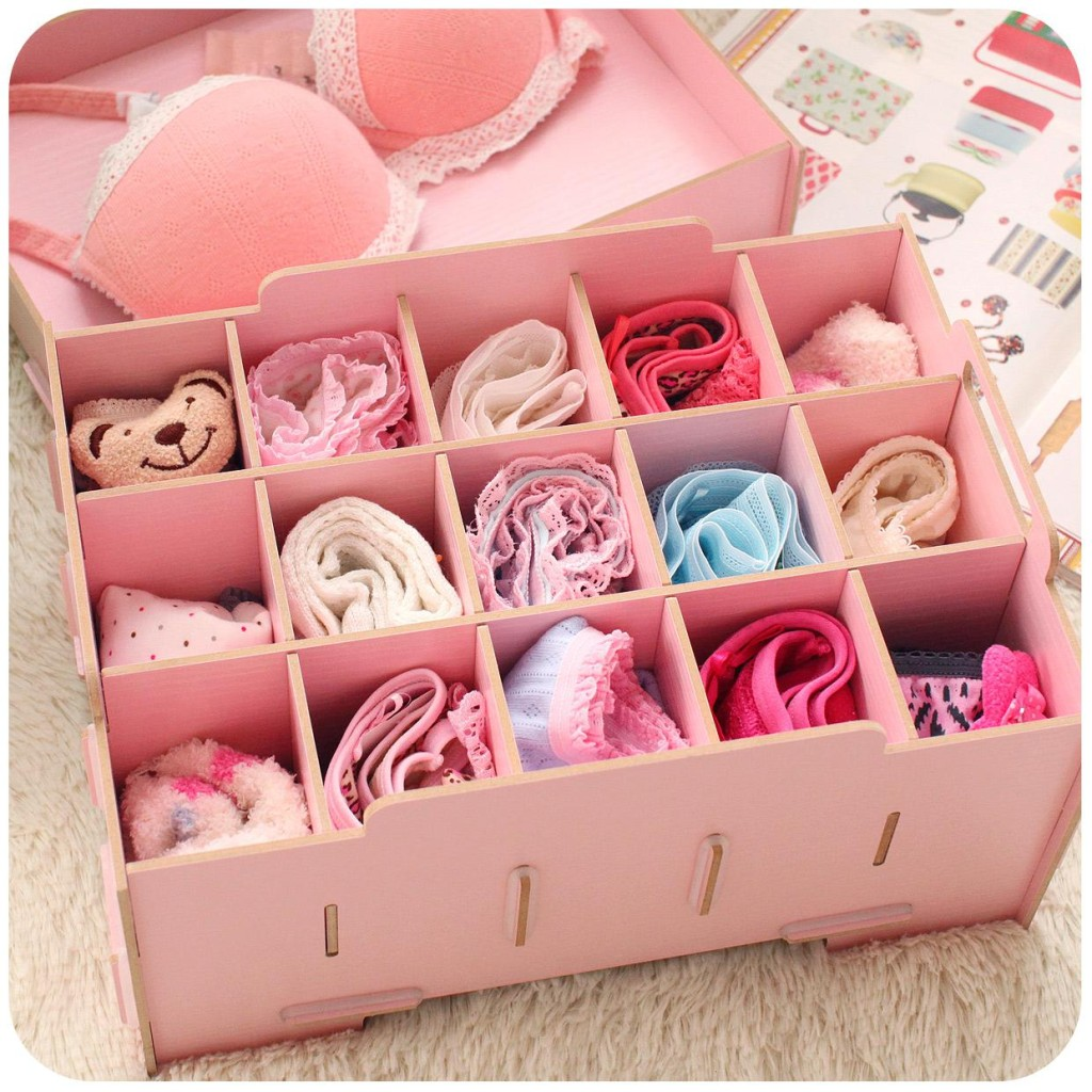 storage undies 32 Ways to Organize Your Stuff Perfectly in Daily Routine 32 Ways to Organize Your Stuff Perfectly in Daily Routine storage undies1