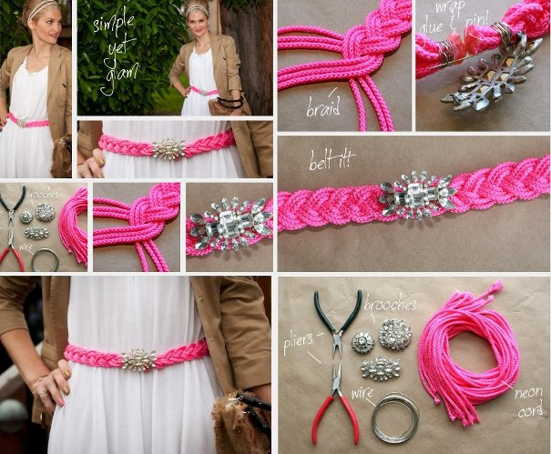 summer-diy-fashion-projects-accessories-braided-belt-broach 22 Easy Diy Summer Clothes & Accessories Projects 22 Easy Diy Summer Clothes & Accessories Projects summer diy fashion projects accessories braided belt broach