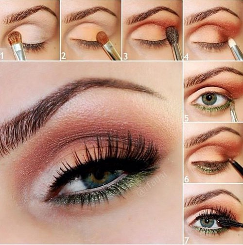 summer-eye-makeup-tutorial 18 Summer Makeup Tutorials 2015/16 to Look Pretty Use These 18 Summer Makeup Tutorials 2015/16 to Look Pretty summer eye makeup tutorial