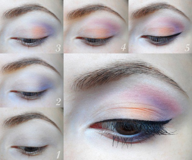 summer-eye-makeup-tutorial 18 Summer Makeup Tutorials 2015/16 to Look Pretty Use These 18 Summer Makeup Tutorials 2015/16 to Look Pretty summer eye makeup tutorial1