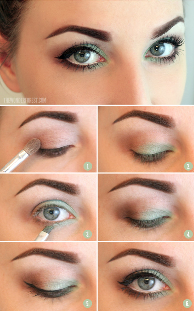 summer-makeup-tutorial-wonder-forest 18 Summer Makeup Tutorials 2015/16 to Look Pretty Use These 18 Summer Makeup Tutorials 2015/16 to Look Pretty summer makeup tutorial wonder forest