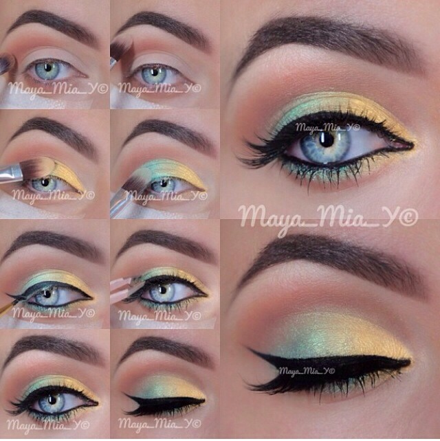 summer-makeup-tutorial 18 Summer Makeup Tutorials 2015/16 to Look Pretty Use These 18 Summer Makeup Tutorials 2015/16 to Look Pretty summer makeup tutorial1