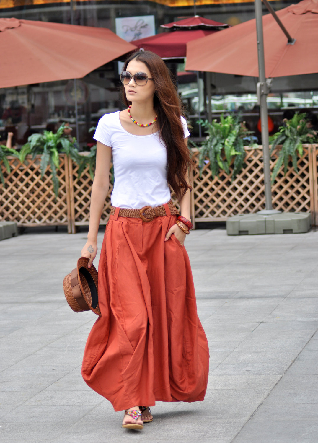 25 Colorful Long Maxi Skirts For Summer 2015 16 Street Style Fashion