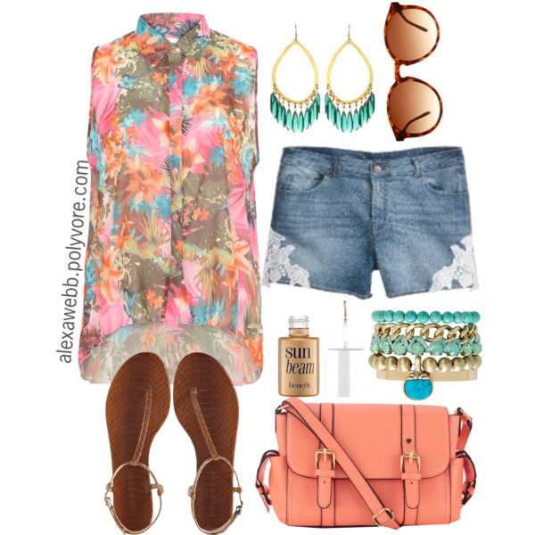 summer outfits 20 Plus Size Summer Outfits On Polyvore 2015/16 20 Plus Size Summer Outfits On Polyvore 2015/16 summer outfits1