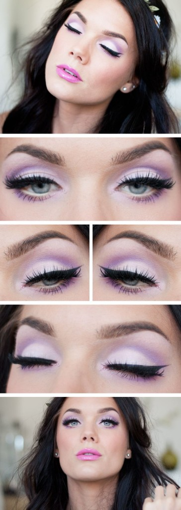 summer_makeup_tutorial 18 Summer Makeup Tutorials 2015/16 to Look Pretty Use These 18 Summer Makeup Tutorials 2015/16 to Look Pretty summer makeup tutorial1
