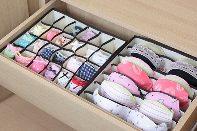 underwear-socks-box 32 Ways to Organize Your Stuff Perfectly in Daily Routine 32 Ways to Organize Your Stuff Perfectly in Daily Routine underwear socks box