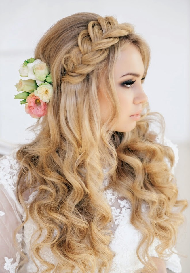 wedding-haistyle 25 Jaw Dropping Bridal Updos & Hairstyles 2015/16 25 Jaw Dropping Bridal Updos & Hairstyles 2015/16 wedding haistyle