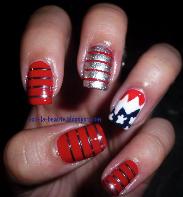 Awesome-4th-Of-July-Nail-Art-Designs-Ideas 21 Awesome 4th Of July Patriotic Day Nail Design Ideas 21 Awesome 4th Of July Patriotic Day Nail Design Ideas Awesome 4th Of July Nail Art Designs Ideas2
