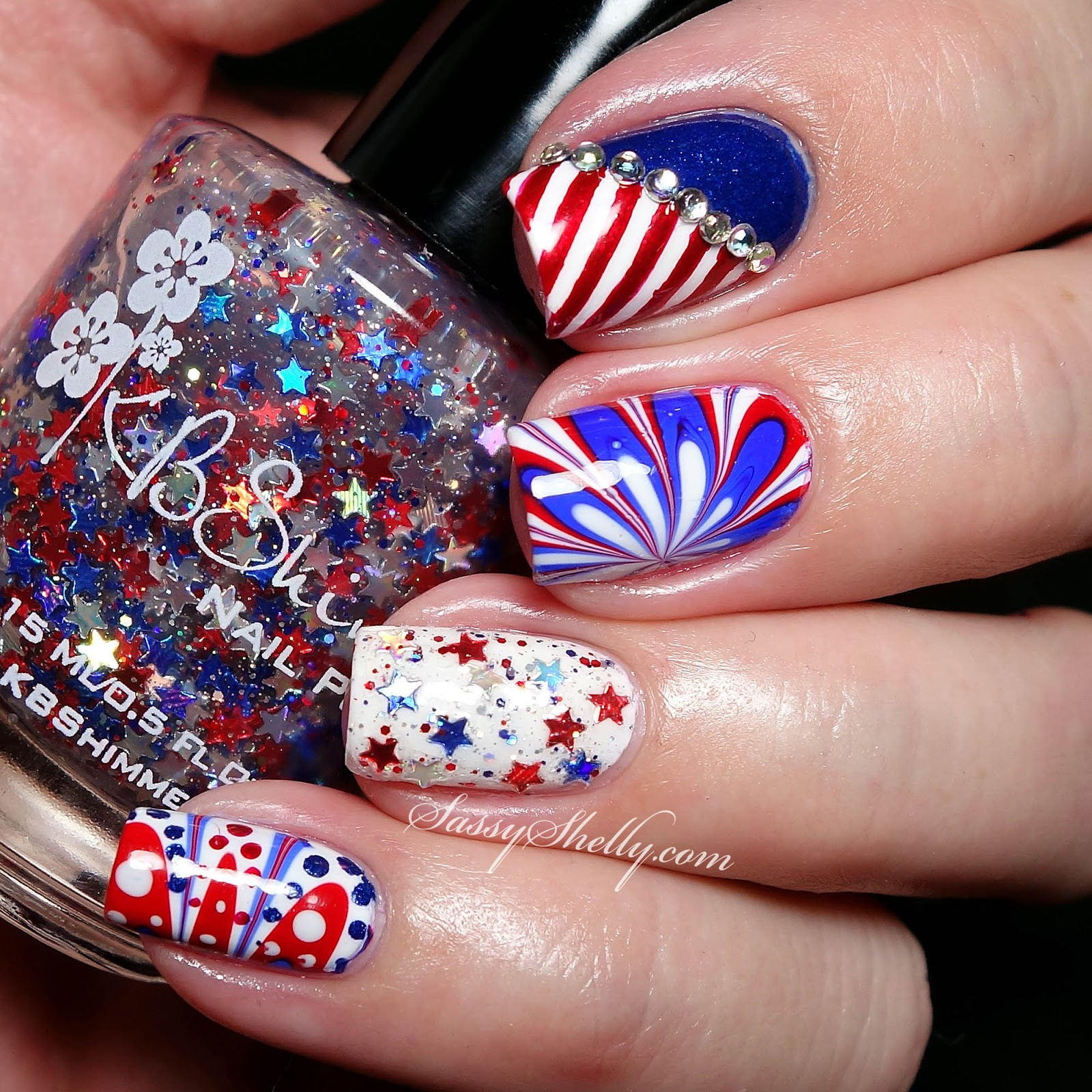 Awesome-4th-Of-July-Nail-Art-Designs-Ideas 21 Awesome 4th Of July Patriotic Day Nail Design Ideas 21 Awesome 4th Of July Patriotic Day Nail Design Ideas Awesome 4th Of July Nail Art Designs Ideas3