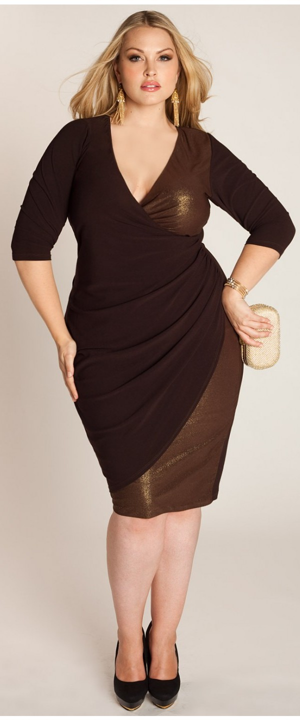 Cocktail-Dresses-for-Plus-Size-Women-with-Sleeves 21 Gorgeous Plus Size Wedding Outfits for Guests 2015/16 21 Gorgeous Plus Size Wedding Outfits for Guests 2015/16 Cocktail Dresses for Plus Size Women with Sleeves