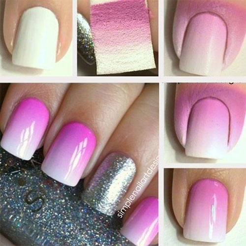 Easy-Nail-Art-Tutorials-for-Coloring-Your-Day 25 Nail Art Designs Tutorials Step By Step for Beginners 25 Nail Art Designs Tutorials Step By Step for Beginners Easy Nail Art Tutorials for Coloring Your Day