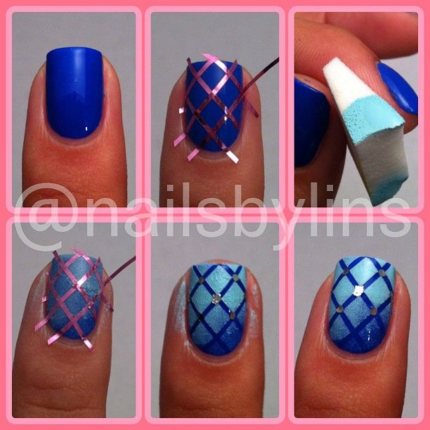 nail art design tutorial step by step for beginners  25 Nail Art Designs Tutorials Step By Step for Beginners 25 Nail Art Designs Tutorials Step By Step for Beginners Easy Nail Art Tutorials1