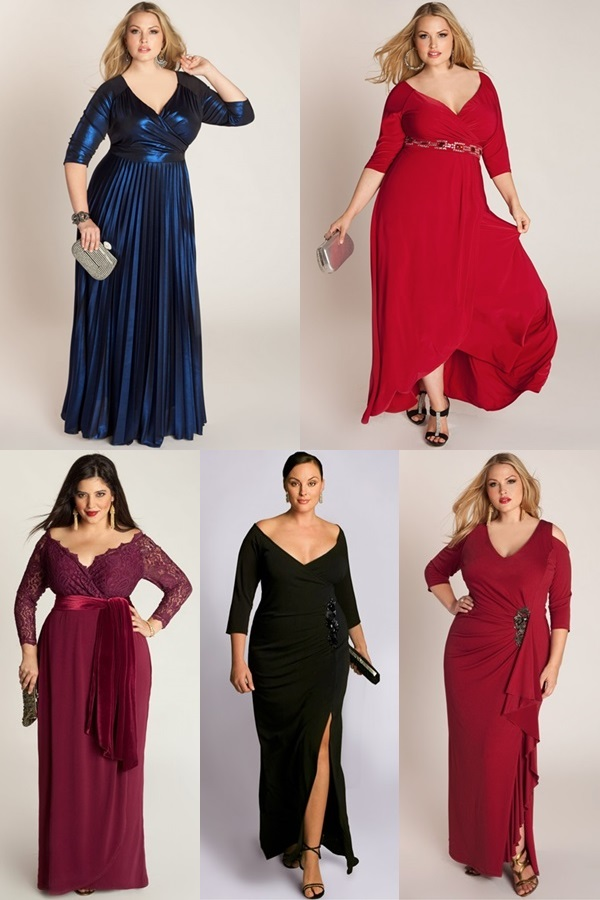 Evening-Plus-Size-Wedding-Guest-Gowns 21 Gorgeous Plus Size Wedding Outfits for Guests 2015/16 21 Gorgeous Plus Size Wedding Outfits for Guests 2015/16 Evening Plus Size Wedding Guest Gowns