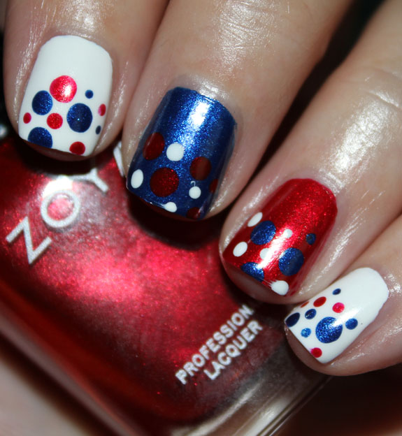 Fourth-of-July-Mani-2 21 Awesome 4th Of July Patriotic Day Nail Design Ideas 21 Awesome 4th Of July Patriotic Day Nail Design Ideas Fourth of July Mani 2