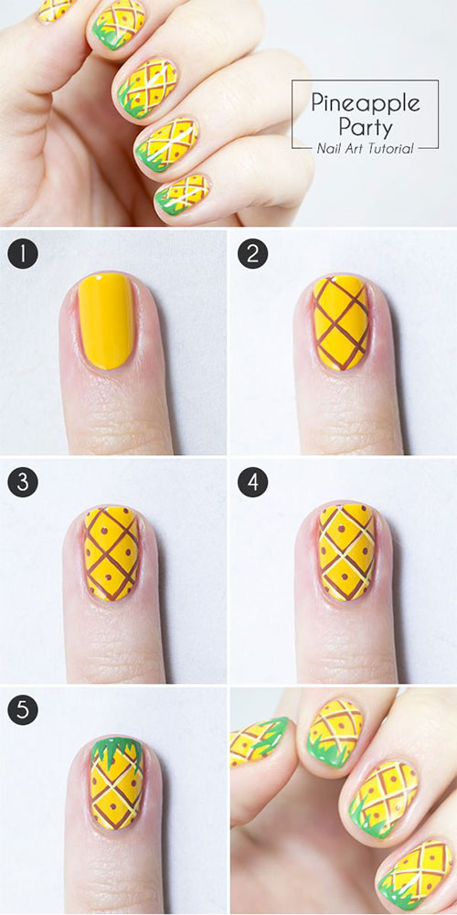 Nail-Art-Tutorials-For-Beginners 25 Nail Art Designs Tutorials Step By Step for Beginners 25 Nail Art Designs Tutorials Step By Step for Beginners Nail Art Tutorials For Beginners