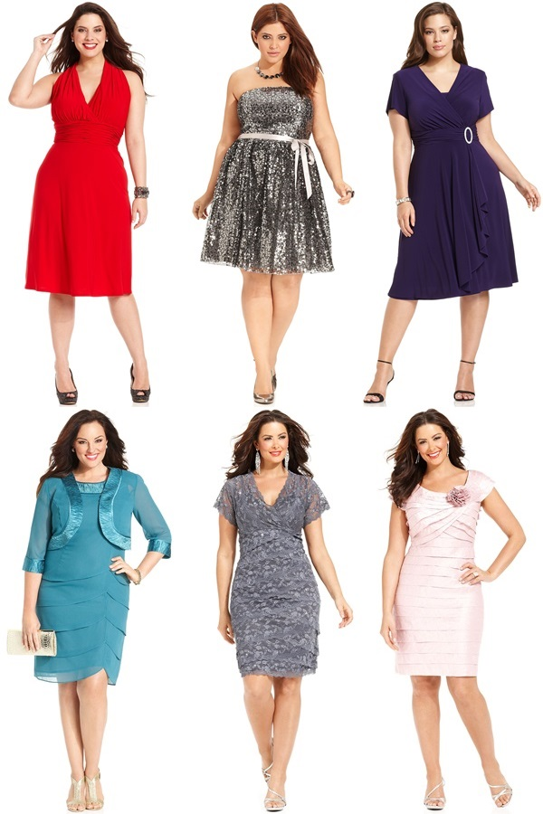 21 gorgeous plus size wedding outfits for guests 2015 16 for Plus size dresses for wedding guests