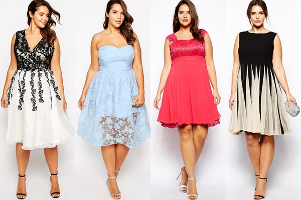 21 Gorgeous Plus Size Wedding Outfits for Guests 2015/16 - Best Wedding Guest Dress Plus Size Pictures - Plus Size Clothing