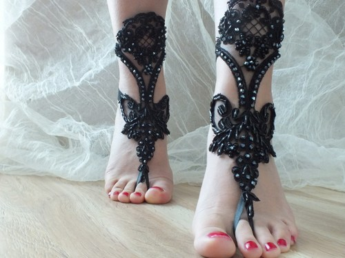 black_beach_wedding_barefoot_sandals 21 Beach Wedding Barefoot Sandals 2015/16 21 Beach Wedding Barefoot Sandals 2015/16 black beach wedding barefoot sandals