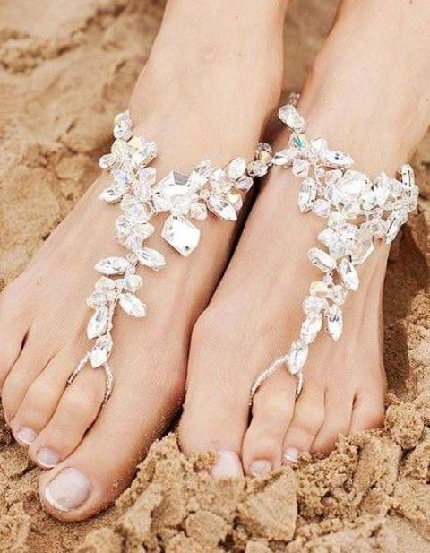 cool-beach-wedding-sandals 21 Beach Wedding Barefoot Sandals 2015/16 21 Beach Wedding Barefoot Sandals 2015/16 cool beach wedding sandals