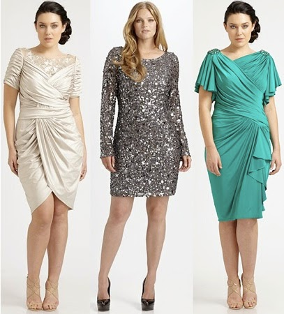 Elegant Plus Size Dresses Bridal Guest Party Attire 21
