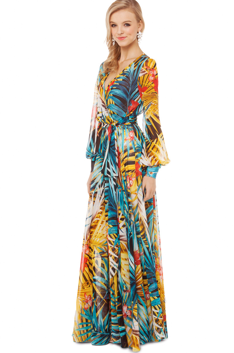 floral dress with sleeves 15 15 Beautiful Long Sleeve Floral Dresses 2015/16 15 Beautiful Long Sleeve Floral Dresses 2015/16 floral dress with sleeves 15