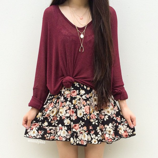 floral dress with sleeves 2 15 Beautiful Long Sleeve Floral Dresses 2015/16 15 Beautiful Long Sleeve Floral Dresses 2015/16 floral dress with sleeves 2