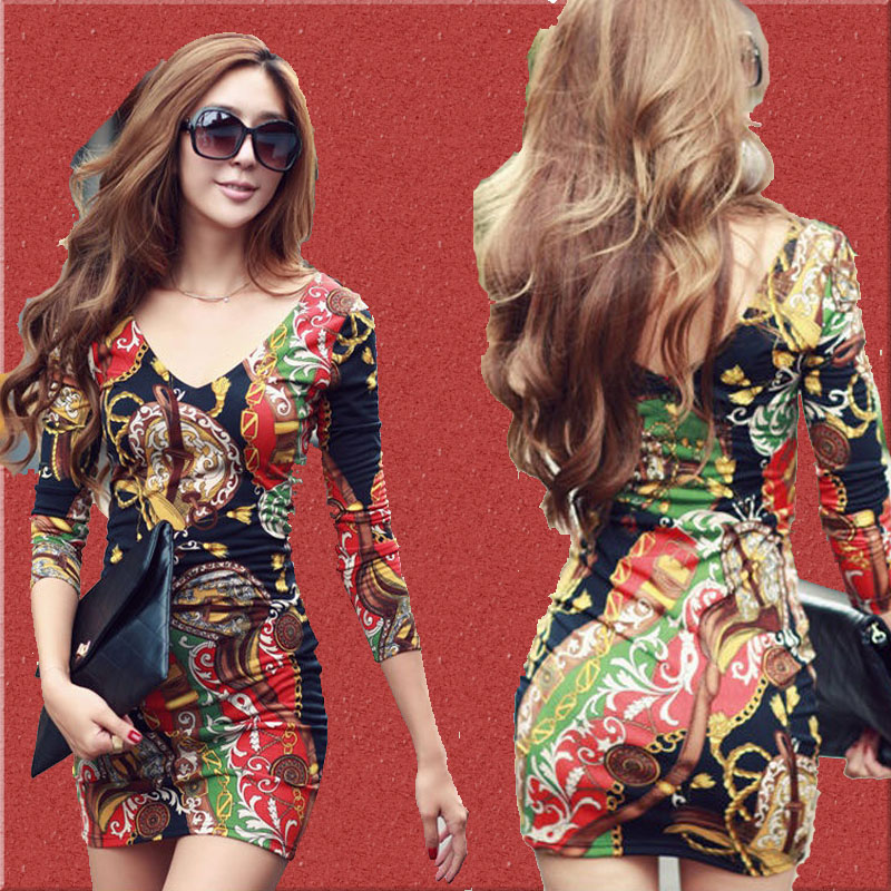 floral dress with sleeves 9 15 Beautiful Long Sleeve Floral Dresses 2015/16 15 Beautiful Long Sleeve Floral Dresses 2015/16 floral dress with sleeves 9