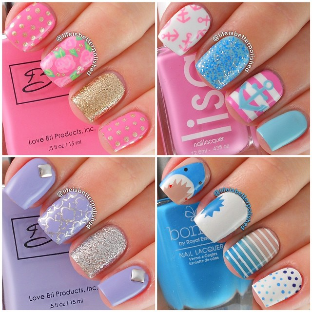 i 25 Amazing Instagram Nails 2015/16 by Life is Better Polished 25 Amazing Instagram Nails 2015/16 by Life is Better Polished i