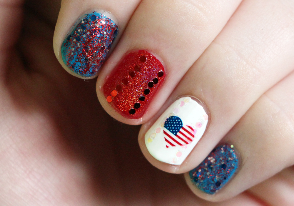 n 21 Awesome 4th Of July Patriotic Day Nail Design Ideas 21 Awesome 4th Of July Patriotic Day Nail Design Ideas n